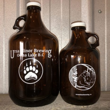 Growlers 1.89 L and .98 L